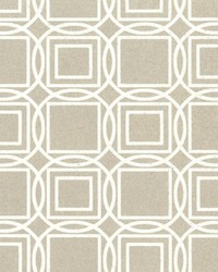 Labyrinth Wallpaper White Off Whites by