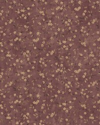 Floral Sprig Wallpaper  Reds by