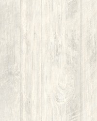 Rough Cut Lumber Wallpaper  White Off Whites by