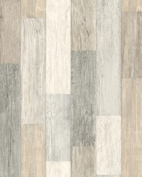 Pallet Board Wallpaper  White Off Whites by