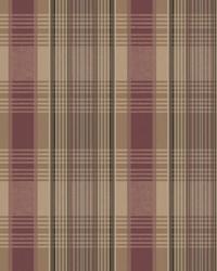 Bartola Plaid Wallpaper  Reds by