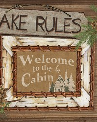 Lake Rules Border  Browns by