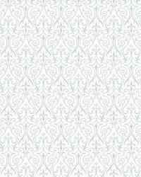 Pizzazz Wallpaper Blacks White Off Whites by
