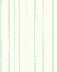 All Mixed Up Wallpaper Blues Metallics White Off Whites by