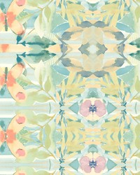 Synchronized Wallpaper Yellows Greens Blues Purples by