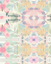 Synchronized Wallpaper Pinks Yellows Purples Greens by