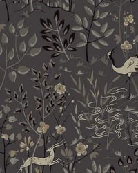 Aspen Wallpaper Gray by