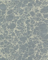 Calacatta Marble Wallpaper - Blue Blues by