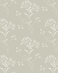 Wildflower  Cupola (Light Grey) White by