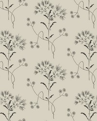 Wildflower  White Gatherings (Taupe) by
