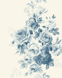 Tea Rose  Blue by