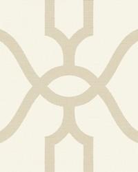 Woven Trellis  Embossed Letter (Beige) by