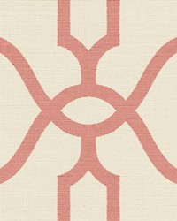 Woven Trellis  Pompian Red by