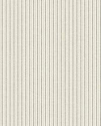 French Ticking  Charcoal Black by