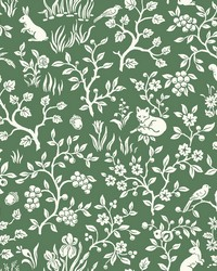 Fox & Hare  Forest Green by