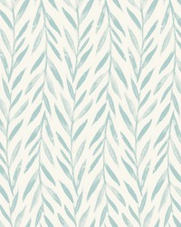Willow Wallpaper Blue by