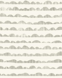 Hill & Horizon Wallpaper Grey by