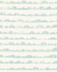 Hill & Horizon Wallpaper Blue by