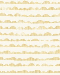 Hill & Horizon Wallpaper Yellow by
