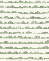 Hill & Horizon Wallpaper Green by