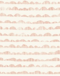 Hill & Horizon Wallpaper Pink by