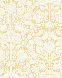 Fairy Tales Wallpaper Yellow by