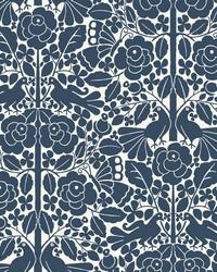 Fairy Tales Wallpaper Blue by