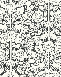 Fairy Tales Wallpaper Black by