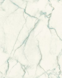Gilded Marble Wallpaper Turquoise Gold by