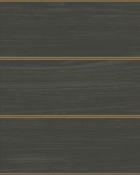 Cerused Woodgrain Wallpaper Black Gold by