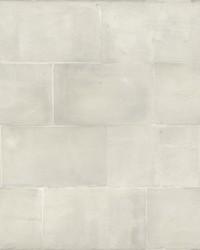 Quarry Block Wallpaper White by