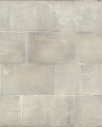 Quarry Block Wallpaper Light Gray by