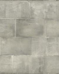 Quarry Block Wallpaper Gray by