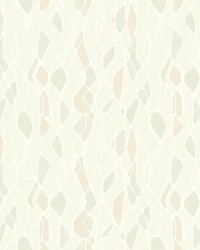 Stained Glass Wallpaper Beige by