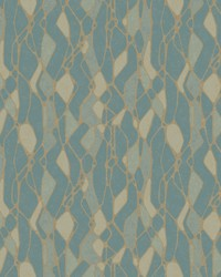 Stained Glass Wallpaper Blue by