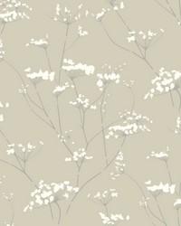 Enchanted Wallpaper Tan by