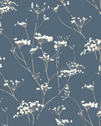 Enchanted Wallpaper Blue by