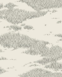 Tundra Scenic Wallpaper White Off Whites by