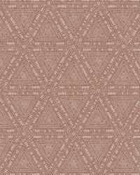 Norse Tribal Wallpaper Reds by