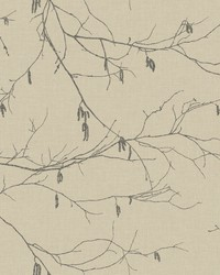 Winter Branches Wallpaper Beiges by
