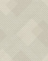 Scandia Plaid Wallpaper Beiges by