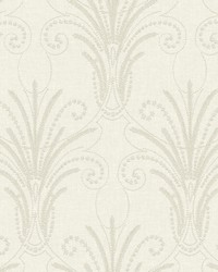 Candlewick Wallpaper White Off Whites by
