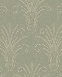 Candlewick Wallpaper Greens by