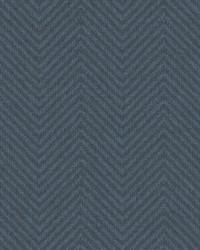 Cozy Chevron Wallpaper Blues by