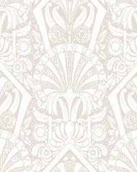 Zelda Wallpaper Beige Cream by
