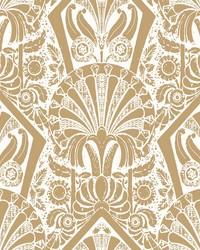 Zelda Wallpaper White Gold by