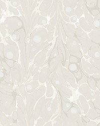 Marbled Endpaper Wallpaper Cream by