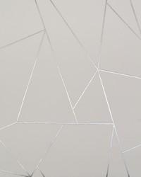 Nazca Wallpaper White Silver by