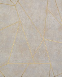 Nazca Wallpaper Neutral Gold by