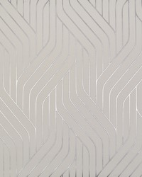 Ebb And Flow Wallpaper White Silver by